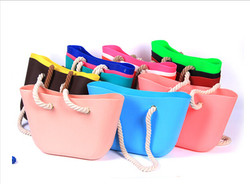 silicone rubber handbag for women wholesale
