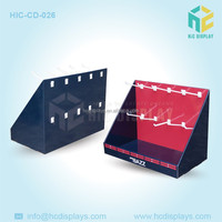 High Quality LED Light PDQ Desktop Display Stand,Lamp Paper Table Display