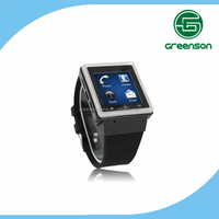 2015 new product! High quality touch screen android smart watch phone fit for iPhone 5 and Samsung Galaxy S6