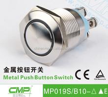 CMP metal waterproof 19mm electrical metal button