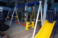 popular item plastic swing set on sell