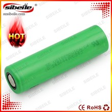 Lithium Ion 1*18650 3.7V 30A 2100mAh cylindrical rechargeable battery small