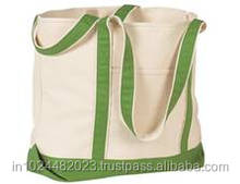 Canvas College Tote Classic Bag