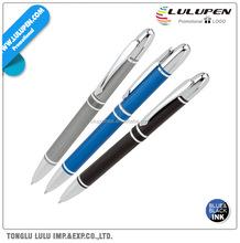 Brushed Aluminum Ballpoint Promotional Pen (Lu-Q24965)