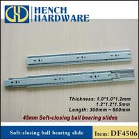 45mm width soft close metal drawer sides