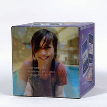 Popular Mixed Drinks Packaging & Bacon Vodka Packing Or Promotional Products Boxes 3D Lenticular Wood Box Packaging