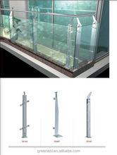 Foshan China supplier stainless steel plexiglass deck railing