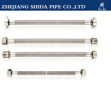 Tian Ren flexible metal hose of flexible braiding tube with brass fitting