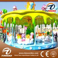 Amusement park kiddie rides carousel,horse equipment for sale