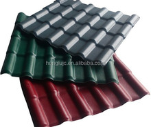 Excellent weatherability pvc sheets black/roof tile/installation roof