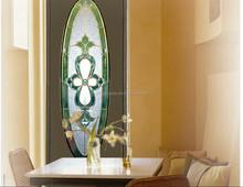 extured parete di vetro colorato porte e finestre usate promozione