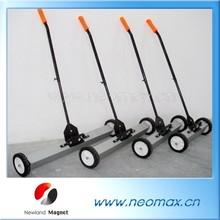 Powerful magnetic broom, magnetic sweeper