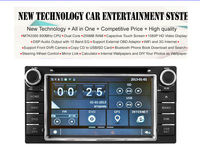 capacitive touch screen Car DVD Player FOR COROLLA(2000-2006)/HILUX(2001-2011) With GPS Bluetooth FM/AM RDS