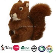 plush squirrel toy/promotion stuffed soft plush toy squirrels