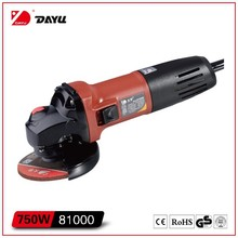electric angle grinder 100mm 750W dayu power tools