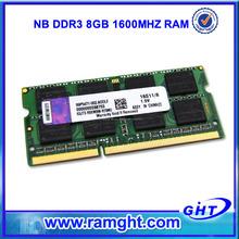 ETT chips ram de memoria ddr3 8gb para portátil de bienes de importación desde China