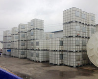 LLDPE IBC container 1000L IBC tote bin for chemical storage