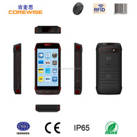 IP65 smartphone with GPRS/WiFi/3G/GPS/camera function barcode scanner nfc reader cheap wireless android bluetooth rfid reader