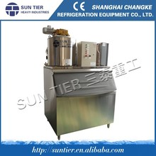 3000kg/day Fresh Water Ice Machine For Fishing Zone Automatic flake Ice Maker ice Maker For Indoor