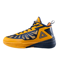 PEAK New Arrival Top Quality Men Basketball Shoes Yellow Profession Sneakers FIBA Series Lightning III