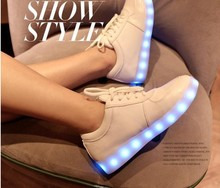 Hot Colorful Fashion Night Light Men & Women Sports LED Shoes