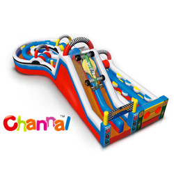 Super Indy Obstacle, giant inflatable obstacle for sale