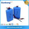 li-ion 18650 3.7v 5200mah lithium ion battery pack for handheld walkie-talkie