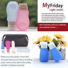 China Supplier 2015 New Products Promotion Items for Summer/Silicone Travel Bottles