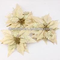 2013 New design wholesale artificial christmas flowers H-44