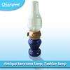 Antique Plastic Blowing Control Usb Charging Led Kerosene Lamp,Retro Electrical Table Led Kerosene Lamp