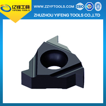 Best carbide threading inserts for Processing of sheet metal threaded and brass threaded