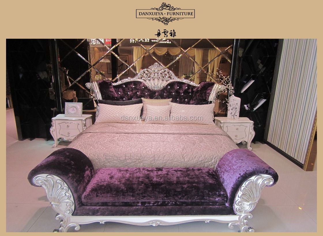 hete verkoop meubels ontwerp massief houten slaapkamer set Dubai ...