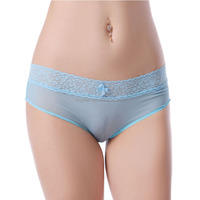 Ohyeah sexy lady transparent blue panty woman underwear