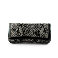 Handcee Hot Grey Snake Skin PU Hand Bags For Lady Wholesale Purses