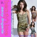 venta al por mayor caliente sexi con estampado de leopardo sexy girl ropa interior caliente