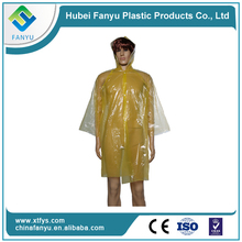 one-time sexy plastic handiness poncho / raincoat