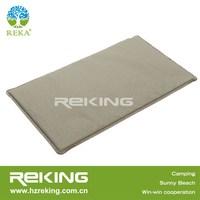grey folding inflatable lilo mattress