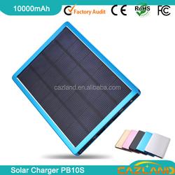 PB10S Popular portable Low Price Gift mini led flshlight solar power bank