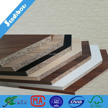 different colors melamine particle board with FSC certificate