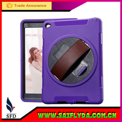 Leather Hand Strap Case for iPad Air Heavy Duty Cover