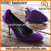 Fashional Safty Silicone High Heel Rubber Shoe Cover Silicone galoshes overshoe