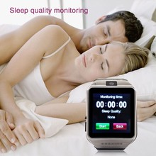 TOP Selling GSM watch mobile With Bluetooth/Pedometer/1.3MP Camera/sleep monitoring/Push Sync SMS Messages