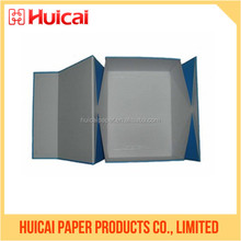 Excellent rigid paper bio-degradable foldable box for macaron packing