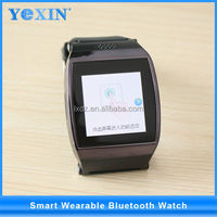 """yi wu stock Touch screen android smart watch , 1.54"""" stainless steel smart bluetooth watch"""