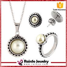 Wedding party gifts dubai gold jewelry set / wedding jewellery designs