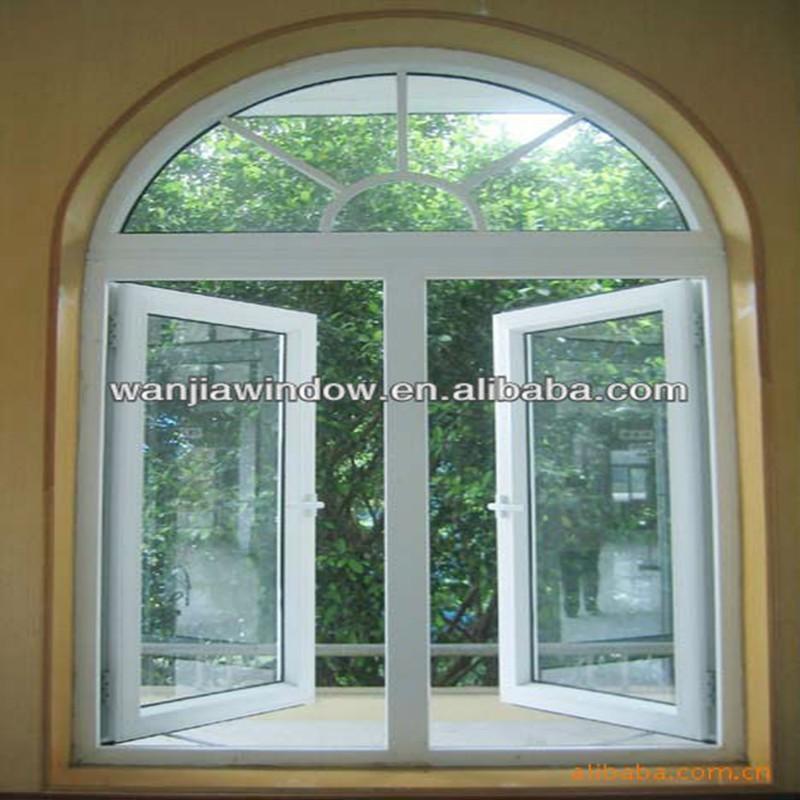 Aluminium Arch Windows Grill Design Foshan Wanjia Factory