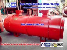 anti abrasive industrial kilns induced draft fan blower