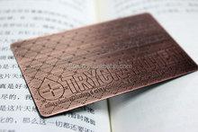 Best quality newly design metal card branding