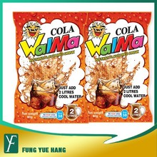 Walma instant juice powder / cola flavored powder / 60g making 2L drinks