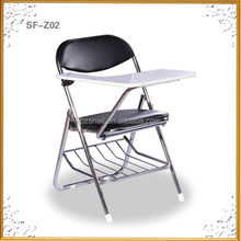 Hot stable comfortable school chair with writing board